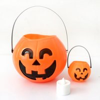 Wholesale Halloween Party decorations Cosplay Party Holloween Props Pumpkin Lantern For Children