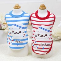 Wholesale 10pcs Abby ocean thickened milk dog clothes dog clothes pet clothing Chihuahua Teddy ultra small cup NO103
