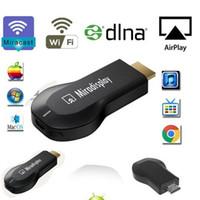 Wholesale Newest Support iOS9 Miradisplay WIFI Display Dongle OTA DLNA Airplay Miracast Chromecast Ezcast Anycast HDMI P Network TV