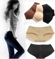 padded underwear - 2015 Factory Lady Curvaceous Underpant Woman Padded Buttock Underwear Fashion Lift Hip Bum Butt Underwear
