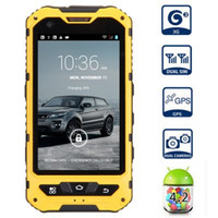 Wholesale A8 IP68 Waterproof Shockproof Android MTK6572 Dual Core inch IPS touch Screen Gorilla glass Phone Runbo X5