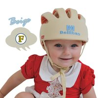 Wholesale Infant Gear Baby Safety Maternity Adjustable Baby toddler hat Baby hat bull cap Baby Toddler Helmet Popular brands of infant toddler cap bab