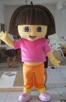 Wholesale High quality D Dora Mascot Costume Fancy Dress Suit your Halloween Outfit