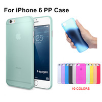 Wholesale 4 inch For iphone case New Arrival Fashion Ultra Thin Slim Transparent Design PP Cover Luxury Piece
