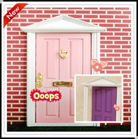 fairy door - 2015 fairy doors factory pcslot cute toys girls fairy doors for children minature doors for kids