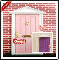Wholesale 2015 fairy doors factory pcslot cute toys girls fairy doors for children minature doors for kids