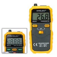 Wholesale Original HYELEC MS6501 High Precision Termostato Digital Thermometer K Type Thermocouple Termometro With Large LCD Display order lt no track