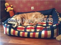 Wholesale New Style Luxury Large Dog Bed Comfortable Dog Kennel Pad Pet Bed Large Bed For Dog Pet Kennel Nest Dog Sofa