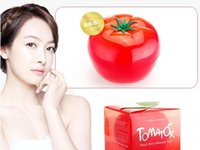 acne organic treatment - Tonymoly Tomatox Tomato Magic Cream Tony Moly Organic Tomato Nourish Facial Mask Whitening Moisturizing Facial MaskTomato Skin Care Mask