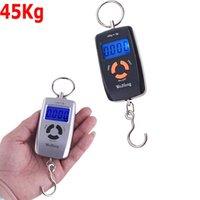 Wholesale Hanging Scale Lage Digital Portable KG g Backlight Wide Handle Hook Scale KG LB OZ