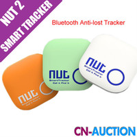 Wholesale New Arrival Anti Lost Nut Smart Tag Bluetooth Tracker Child Bag Wallet Key Finder GPS Locator Alarm Colors Optional