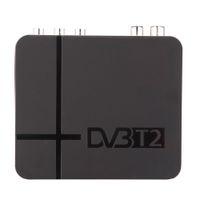 Wholesale DVB T2 Digital Terrestrial Satellite TV Receiver H MPEG K2 Full HD P Set top Box Compatible with DVB T for TV HDTV