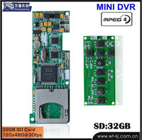 best video boards - best selling V DVR sd card video recorder module board MINI MOTION DETECT DVR module