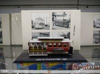 antique atlas - Static antique car models The original package of ATLAS alloy resin model of city bus tram train Cablecar1888