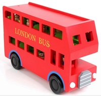 baby toys london - Free Shiping kidsToy Big London Bus For Two Floors Assembling Toys children Learning Educational Toys toy cars baby toy