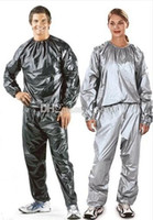 sauna suit - New Arrive Weight loss sauna suit sweat clothes clothing men and women lose weight slimming Workout clothes diet