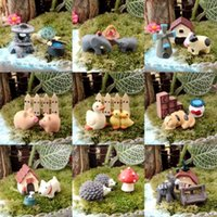 Wholesale Miniature Dollhouse Bonsai Craft Garden Ornament for Plant Pots Fairy Garden