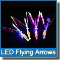 Wholesale 2015 Newest Toy LED Amazing Arrow Helicopter Flying Umbrella Space UFO LED Arrow Helicopter LED Flying Toys MOQ