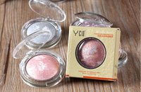 baking powder - YCID Shimmer Baked Powder Eyeshadow Cosmetic Makeup Palette Nautral Shining Eye Shadow For Women g DHL Free