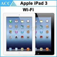 Wholesale Original Apple iPad rd Generation GB GB GB WIFI inch IOS A5X Warranty Included Black And White