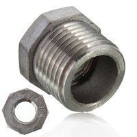 Wholesale High quality inch Male to inch female Stainless Steel street Elbow Threaded Pipe Fitting