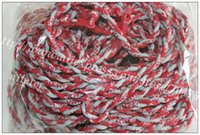 alabama tornadoes - hot necklace ALABAMA double ropes sport necklace colours twist tornado sport necklace teams amp college in stock