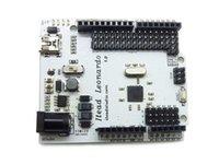 Wholesale Cduino Leonardo ATMEGA32U4 Learning Board Official Modified MCU Development UNO R3 Starter atmega RC PCB Electronics diy