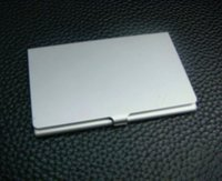 business card case - 10PCS ALUMINUM CARD HOLDER METAL ALLOY POCKET BUSINESS ID CREDIT CASE epacket