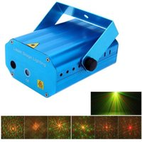Wholesale Mini Projector R G DJ Disco Light Stage Xmas Party Club Laser Lighting Show dj