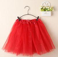 Wholesale women s tutu skirts plus size dance ballet white tutus Pink purple tulle adult tutu skirts