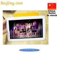 Wholesale Actions A Unlock Tablet PC inch quad core cheapest Tablet Touch Screen Dual Cameras G G bluetooth HDMI tablets