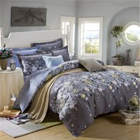 beautiful comforters - Beautiful Design Printing Bedding Set Pillowcase Bed Sheet And Duvet Cover Luxury Comforter Winter Cotton Bedding Sets