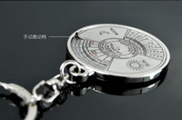Calender metal keychain antique perpetual calendar - 1Pcs Super Perpetual Unique Metal Ring Years Perpetual Calendar Key Chain