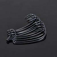 Wholesale Trulinoya pack BKK Narrow abdomen Black Nickel Crank hook Fishing Hook High Carbon Steel Single Barbed Hook