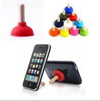 Wholesale NEW New Sucker Stand For Cell Phone i Phone i Pod PSP Mini Plunger Holder