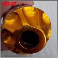 Wholesale UNIVERSAL mm EXHAUST PIPE Muffler for Dirt Pit Bike GOLD COLOUR