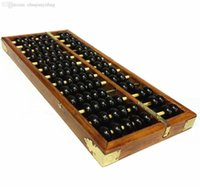 Wholesale Vintage Style Chinese Wooden Abacus Chinese Lucky Calculator