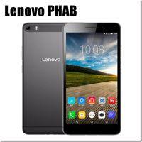 tablet cell phone - Original Lenovo PHAB Plus Android Smart Phone MSM8939 Quad Octa Core RAM GB ROM GB mAh FDD LTE G Phone Cell
