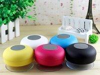 Cheap CAR Speakers lPortable Waterproof Wireless Bluetooth Speaker Shower Car Handsfree Receive Call mini Suction IPX4 speakers box player