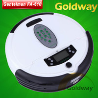 Wholesale Mini Cleaning Robot Gentelman FA With LCD Screen Alarm Mopping Remote Control Self Charge Function Vacuum Cleaner