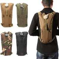 assault pack army - NEW Arrival New style fashion Multicolor L Hydration Packs Tactical Water Bag Assault women men s Backpack Hiking Pouch