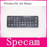 Wholesale 2 in Air Mouse Keyboard for TV Box Mini PC Motion Sensing Games mini fly air mouse wireless game keyboard remote control