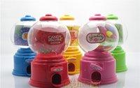 2015 Mini torsión linda Piggy Candy Machine dispensador de moneda de ahorro de dinero de banco de Caja de almacenamiento decorativo regalo para los niños 100