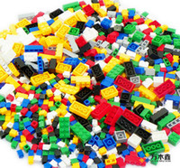 Wholesale 1000 PICs Assembling building blocks diy granules building blocks gruond building blocks bulk type joining together