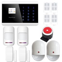 auto immune system - Android App Control Wireless Touch Keypad GSM PSTN Home Security Alarm System with Auto Dial Wireless Pet Immune Motion Detector DIY