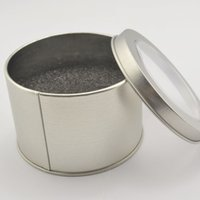 best jewelry storage - new arrival fashion round style metal watch jewelry storage box best gift drop shipping