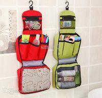 Wholesale women men s travel bags large capacity waterproof wash bag travel portable folding portable cosmetic bag