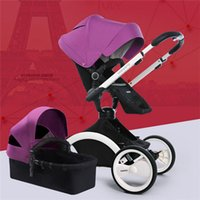 babies absorber - Baby Stroller in High Landscape Baby Cart Can Sit Lying Folding Two way Shock Absorber European Baby By Pram Pushchair