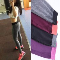 Wholesale Women Yoga Clothing Sports Pants Legging Tights Workout Sport Fitness Bodybuilding And Clothes Running Leggings For Female