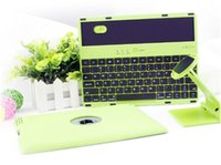 Wholesale Intelligence Bluetooth Wireless Keyboard with Case for ipad degree rotation of the keyboard shell